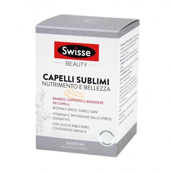 Swisse Beauty Linea Bellezza Capelli Sublimi 30 capsule