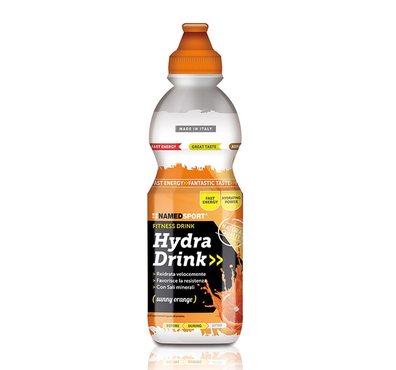 Named Sport Linea Integrazione Sportiva Hydra Drink Sunny Orange 500 ml