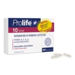 Prolife 10 Forte Integratore a Base di Fermenti Lattici e Vitamine