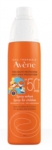 Eau thermale avene spray bambino spf 50 200 ml