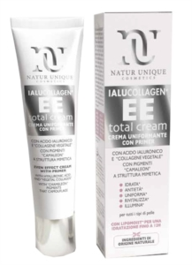 Ialucollagen Total EE Cream Nature Unique Uniformante con Primer 40 ml