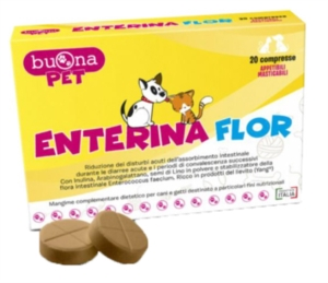 Steve Jones Enterina Flor 20 Compresse Cani e Gatti