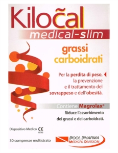 Kilocal Linea Dispositivi Medici Medical-slim Grassi Carboidrati 30 Compresse