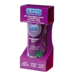 Durex Linea Lubrificanti Gel Massage 2 in 1 con Aloe Vera Gel Intimo 200 ml