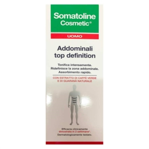Somatoline Cosmetic Uomo Trattamento Snellente Addominali Top Definition 200 ml